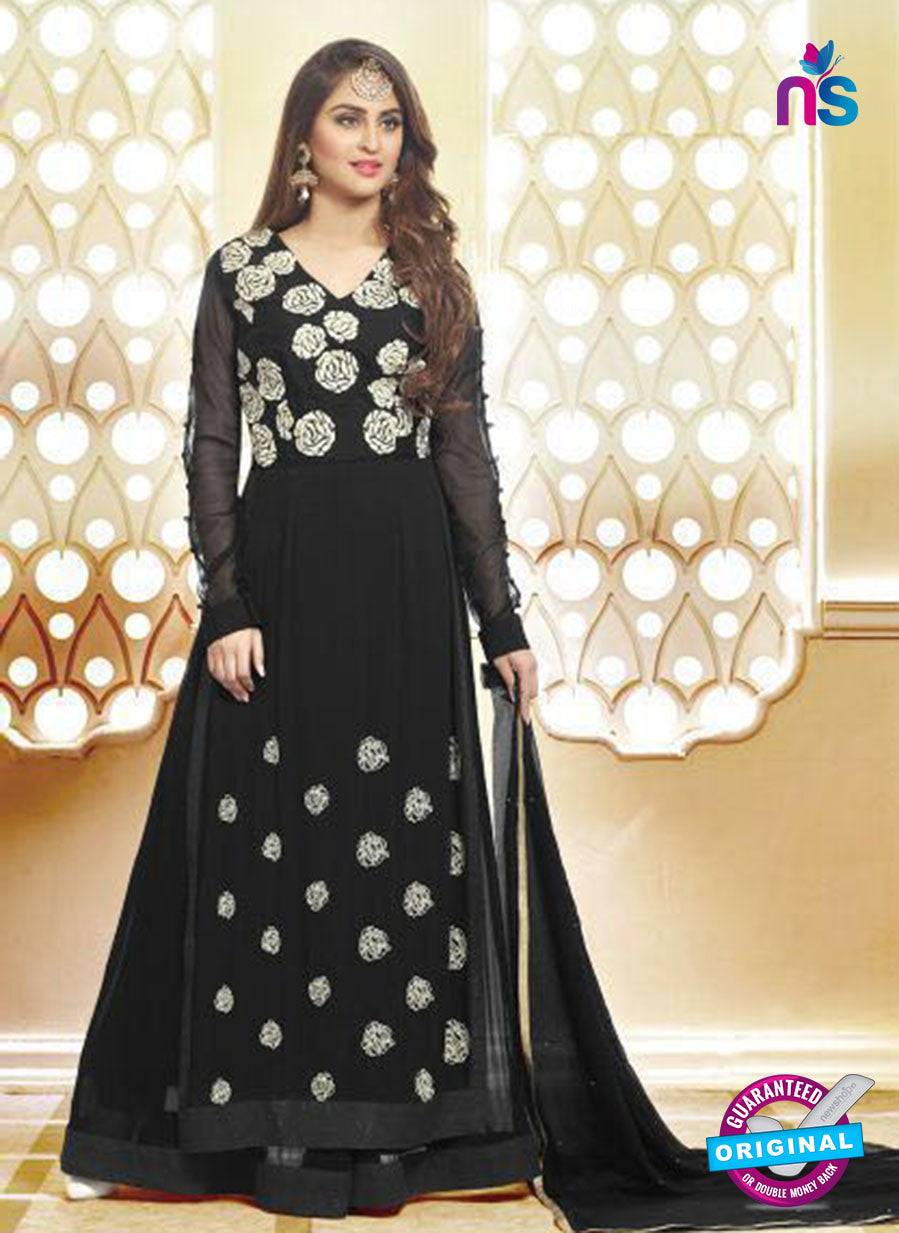 AZ 3653 Black Georgette Pakistani Suit