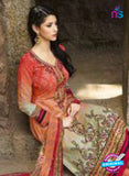 AZ 1078 Multicolor and Orange Lawn Cotton Pakistani Suit Online