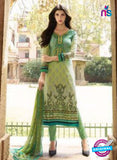 AZ 1079 Green Lawn Cotton Pakistani Suit