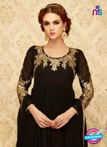 SC 42320 Black Anarkali Suit