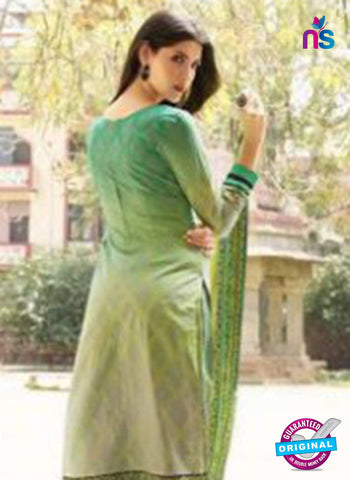 AZ 1079 Green Lawn Cotton Pakistani Suit Online
