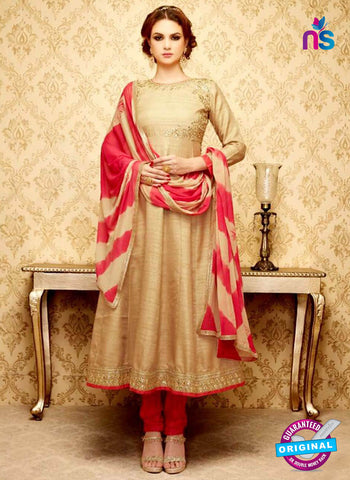 SC 42322 Beige Anarkali Suit