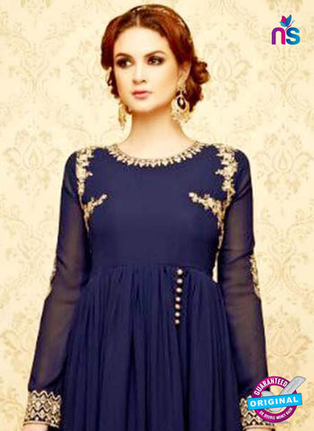 SC 42323 Blue Anarkali Suit