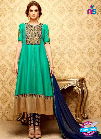 SC 42324 Sea Green Anarkali Suit
