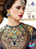 SC 14050 Blue Georgette Exclusive Function Wear Designer Suit Online