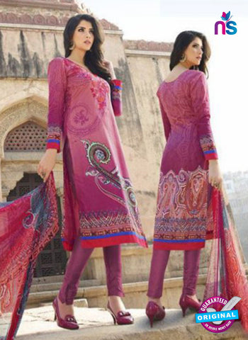 AZ 1083 Pink Lawn Cotton Pakistani Suit