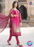 AZ 1085 Pink and Multicolor Lawn Cotton Pakistani Suit - Salwar Suits - NEW SHOP