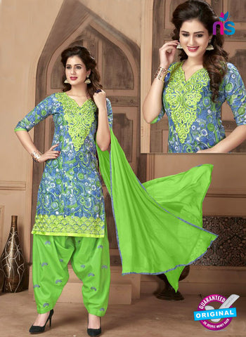 SC 42164 Blue Designer Patiala Suit
