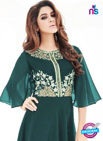 SC 42279 Green Indo Western Tunic