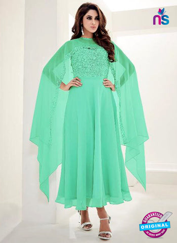 Arihant 8065 Sea Green Indo Western Tunic