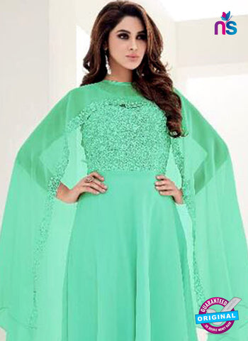 SC 42286 Sea Green Indo Western Tunic