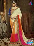 SC 14276 Multicolor Chiffon and Georgette Party Wear Saree