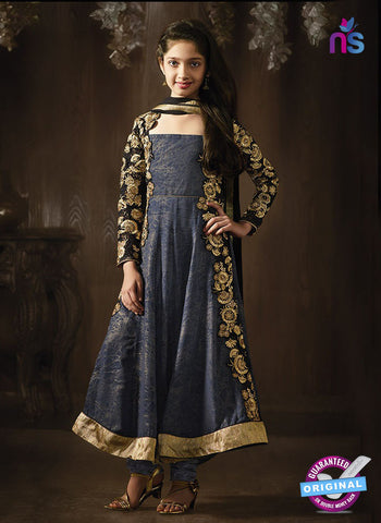 Karma 8079 A Grey Anarkali Suit