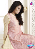 NS11017 Rose Pink and Beige Designer Anarklai Suit Online