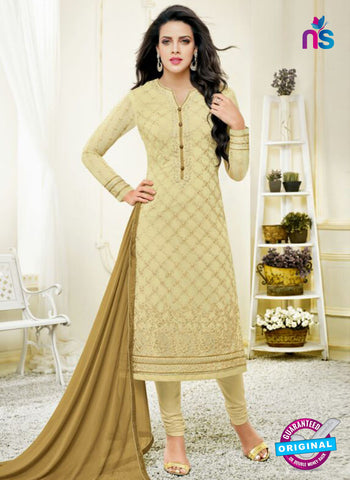 Zisa 8211 Beige Georgette Party Wear Suit