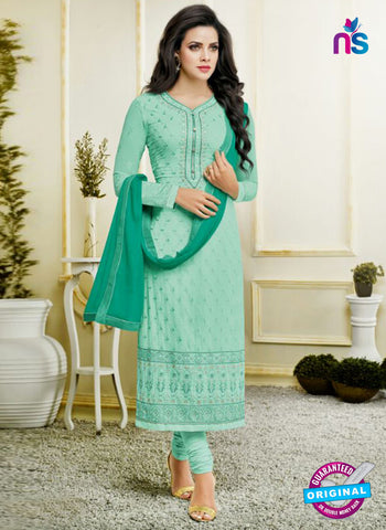 Zisa 8212 Sea Green Georgette Party Wear Suit