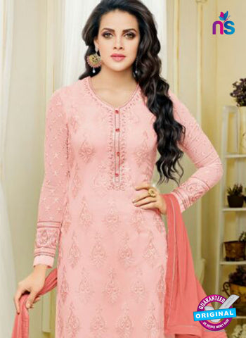 Zisa 8217 Pink Georgette Party Wear Suit