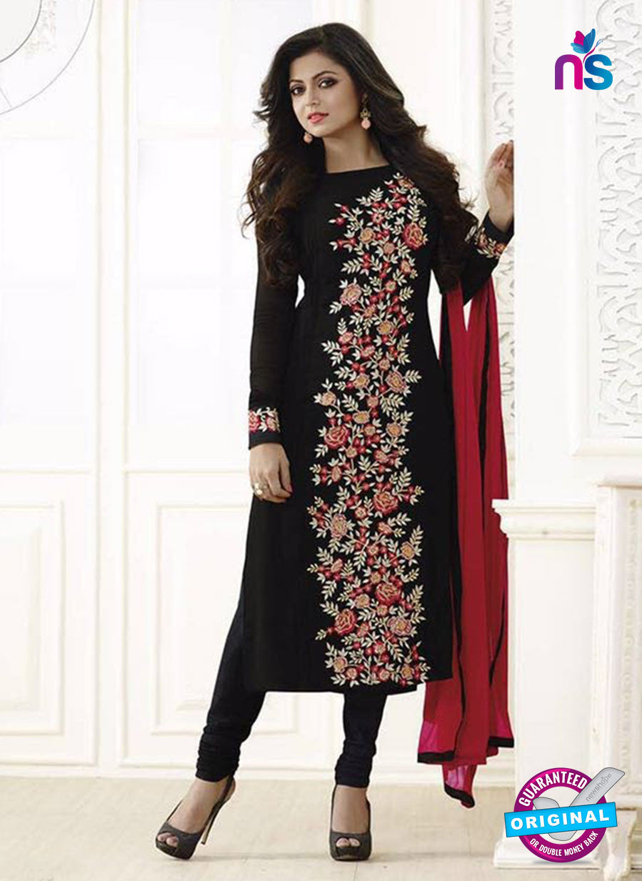 LT 83003  Black Color Georgette Designer Suit