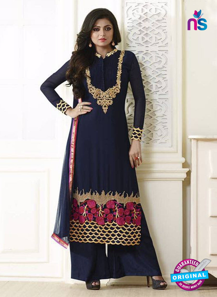 LT 83009  Blue Color Georgette Designer Suit