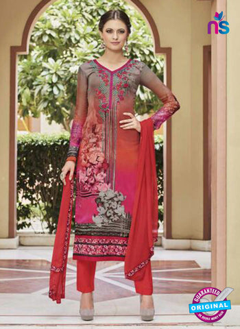 Glossy 8425 Multicolor Formal Georgette Suit