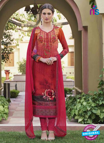 Glossy 8428 Pink Formal Georgette Suit