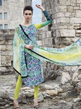 Jinaam 8449 Multi Color Glace Cotton Designer Suit