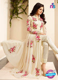 SC12712 Beige and Pink Georgette Part Wear Anarkali Suit