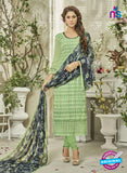 SC 14126 Green Georgette Formal Suit