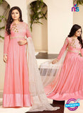 SC12714 Pink Georgette Party Wear Gawn