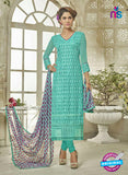 SC 14124 Sea Green Georgette Formal Suit