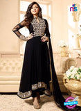 LT 88012 Black Embroidered Georgette Party Wear Designer Anarkali Suit