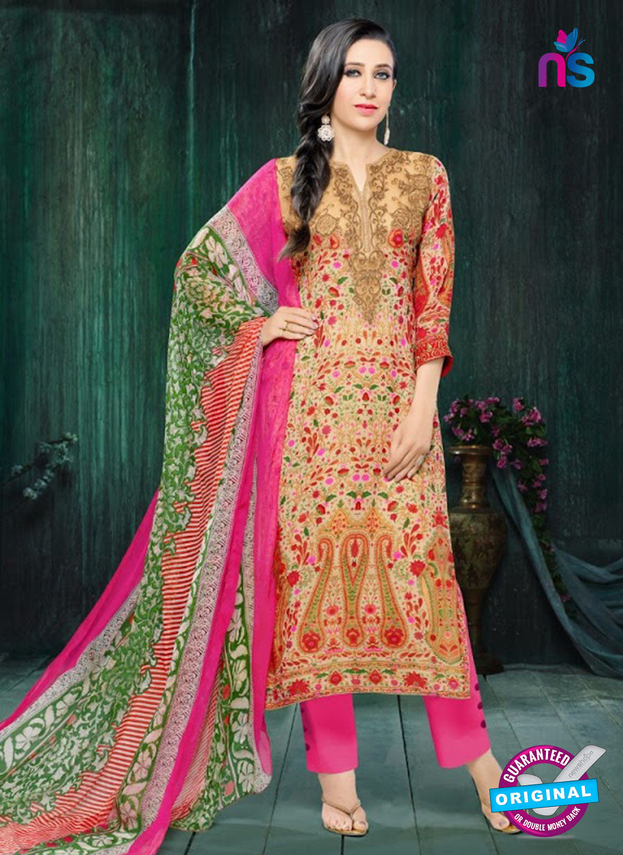 MF 90000 Multicolor Faux Georgette Pakistani Suit