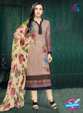 MF 90007 Beige Faux Georgette Pakistani Suit