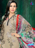 MF 90008 Beige Faux Georgette Pakistani Suit