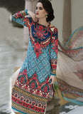 TM 9001  Multi Color Satin Cotton Designer Suit