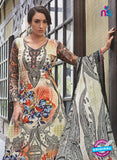 NS11072 B Multicolor and Blue Party Wear Cotton Pakistani Style Indian Suit