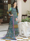 TM 9002  Multi Color Satin Cotton Designer Suit