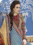 TM 9003  Multi Color Satin Cotton Designer Suit