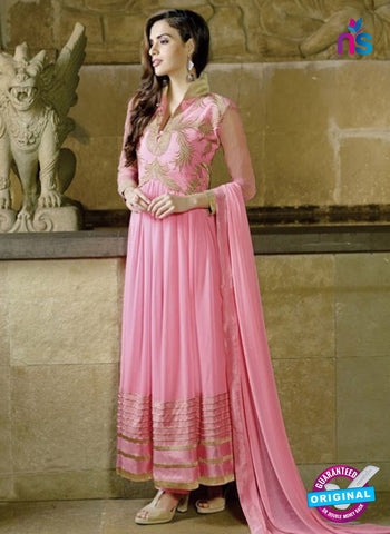 AZ 2038 Pink Embroidered Heavy Georgette Anarkali Suit