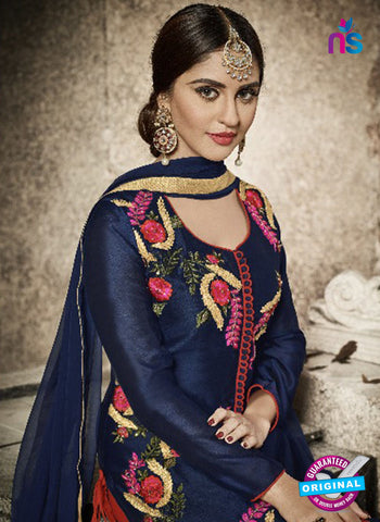 Vardan 9008 Blue Party Wear Suit