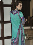 TM 9009  Multi Color Satin Cotton Designer Suit