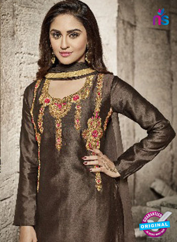Vardan 9010 Brown Party Wear Suit