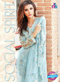 SC 13695 Sky Blue Designer Function Wear Fancy Exclusive Salwar Suit