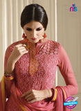 Vivek 903 Pink Color Georgette Designer Straight Suit
