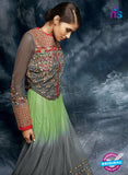 AZ 3783 Grey Net Anarkali Suit