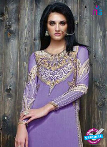 Sanskruti 9053 Purple Georgette Party Wear Suit Online