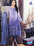 NS11086 Lavender Georgette Party Wear Designer Suit