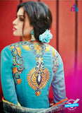 Bahni 9071 Sky Blue Cotton Formal Suit Online