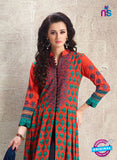 AZ 3881 Orange Georgette Pakistani Suit