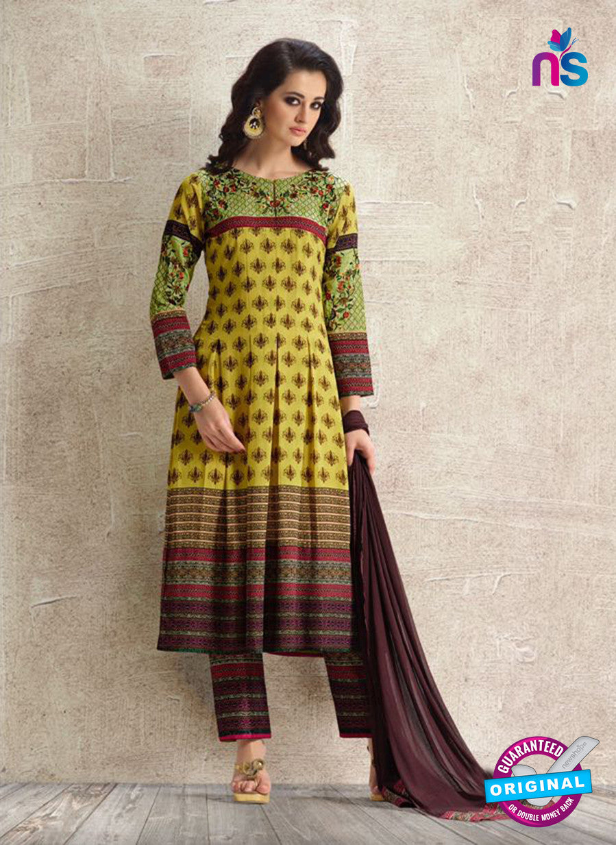 Amara 9078 Green Georgette Pakistani Suit